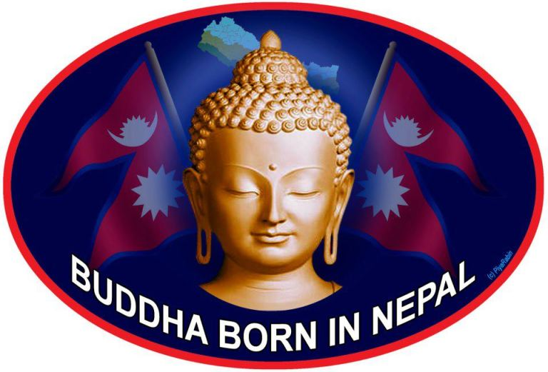 Buddha born in Nepal