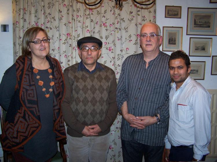 with bnfa team