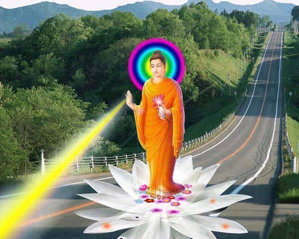 Buddha rays